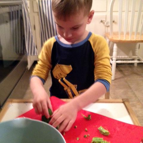 Chef Patrick, Age 5