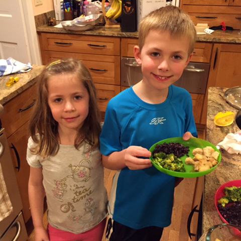 Chef Colton and Carina, Age 6 and 8