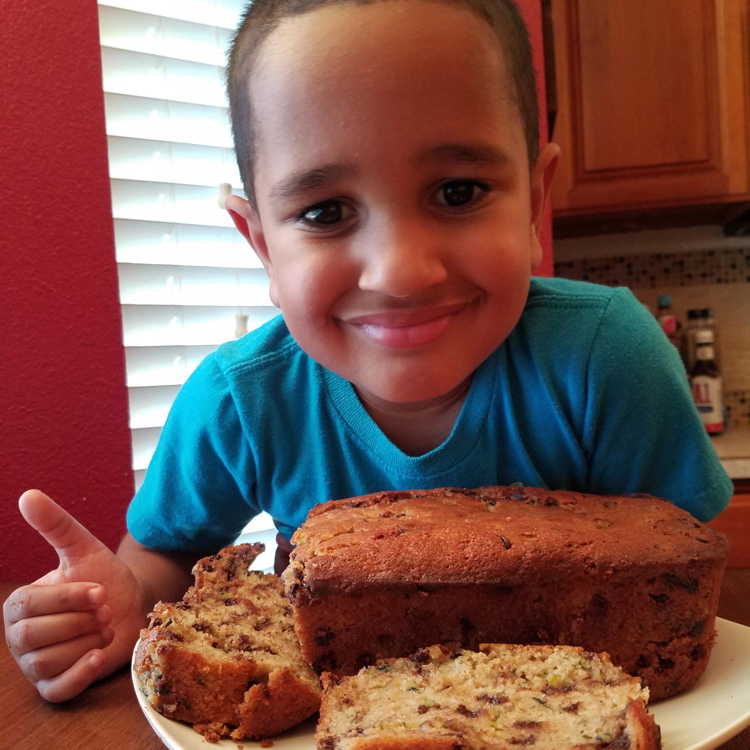 Chef Mason, Age 4