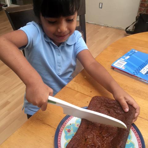 Chef Victoria, Age 5