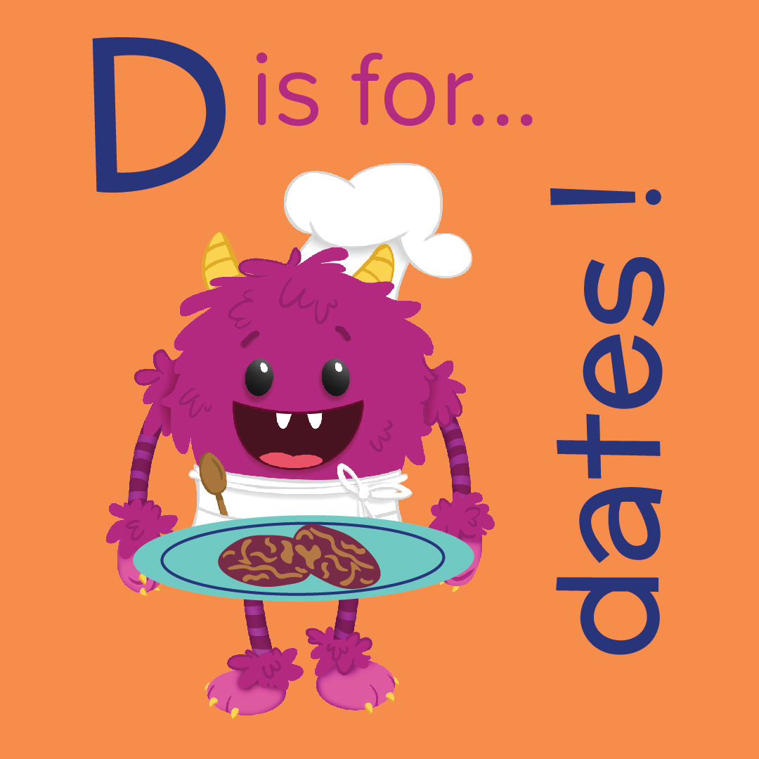 Foods that start with d, d is for date, foods beginning with the letter d, recipes starting with d, recipes a to z