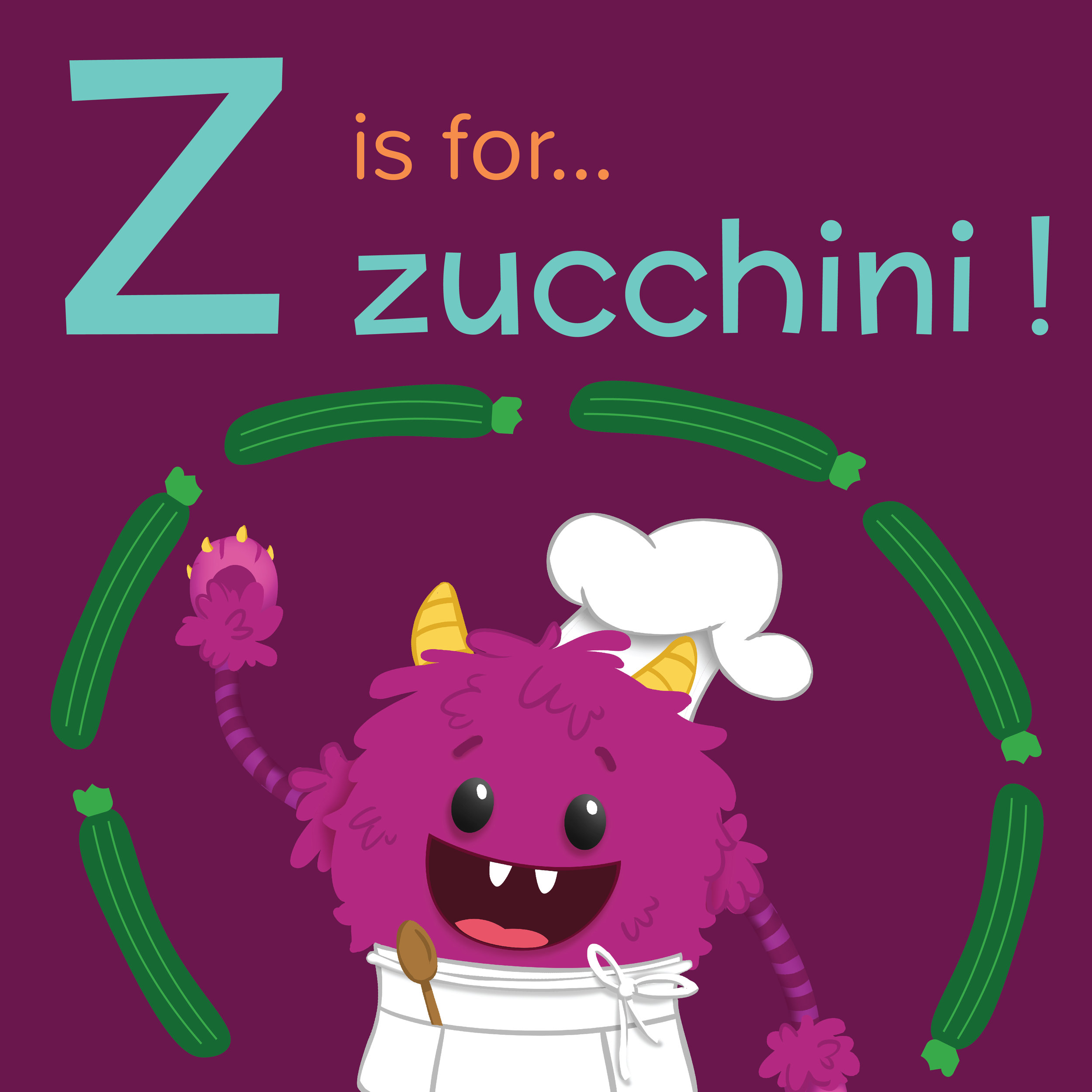 Foods that start with Z, Z is for zucchini, foods beginning with the letter z, recipes starting with z, recipes a to z