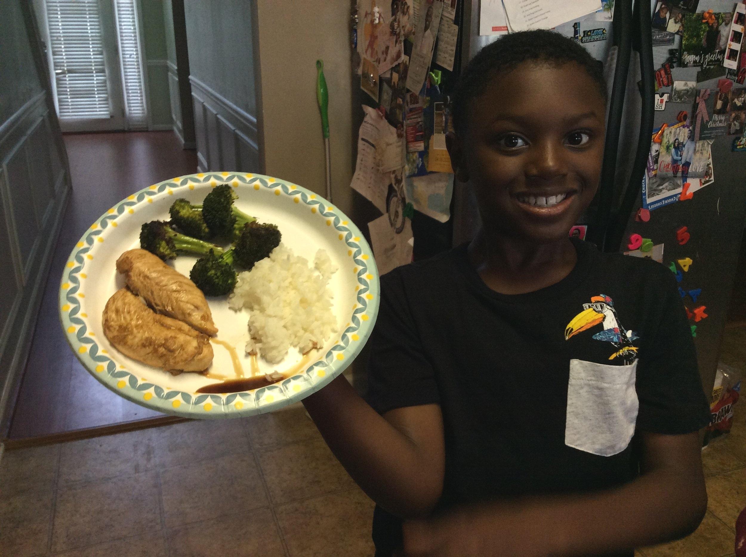 Chef Dillan, Age 8