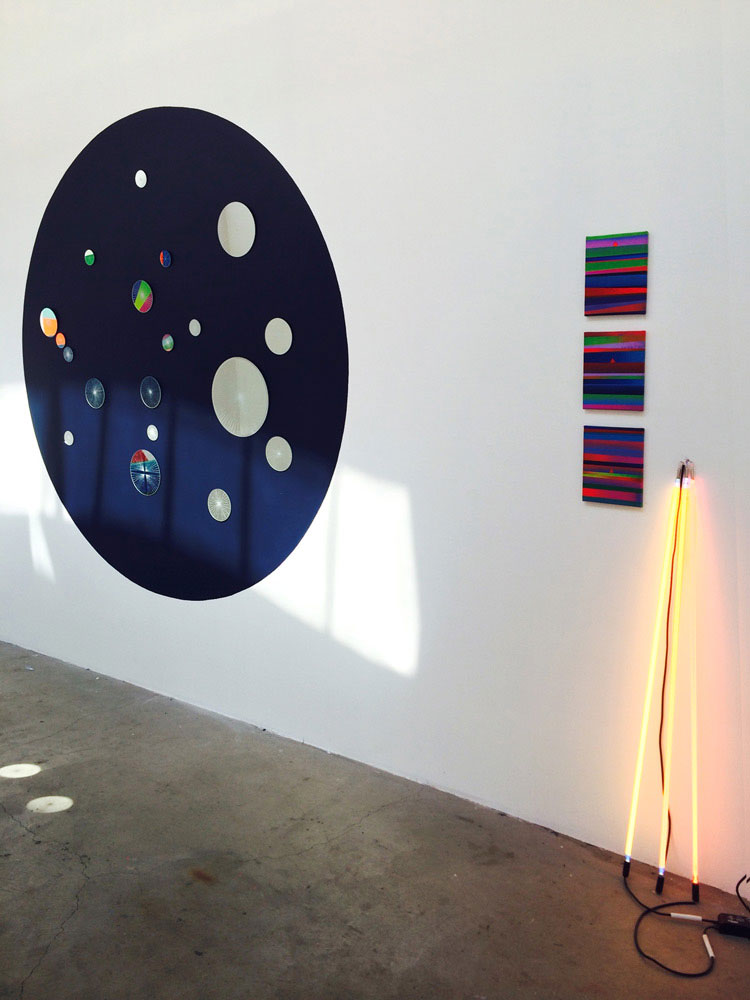 """Mark Warren Jacques """"All Night Every Day""""installation"""