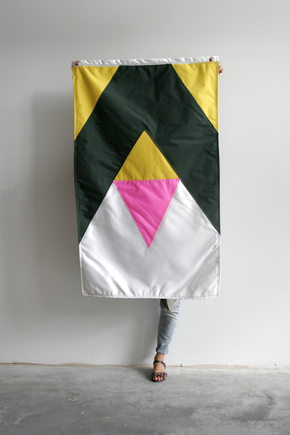 Cristina Victor - My Story Is My Flag #2nylon flag