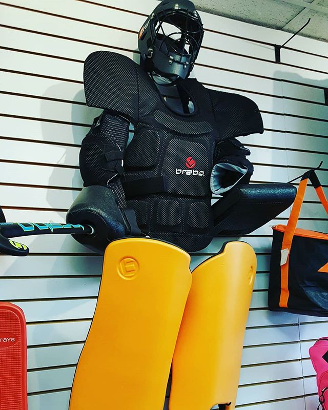 Junior season is right around the corner! So come on down to Hockey King Sports and upgrade your kit! #goalkeepers #goaliesrule #brabogoalkeeper #hockeykingsports