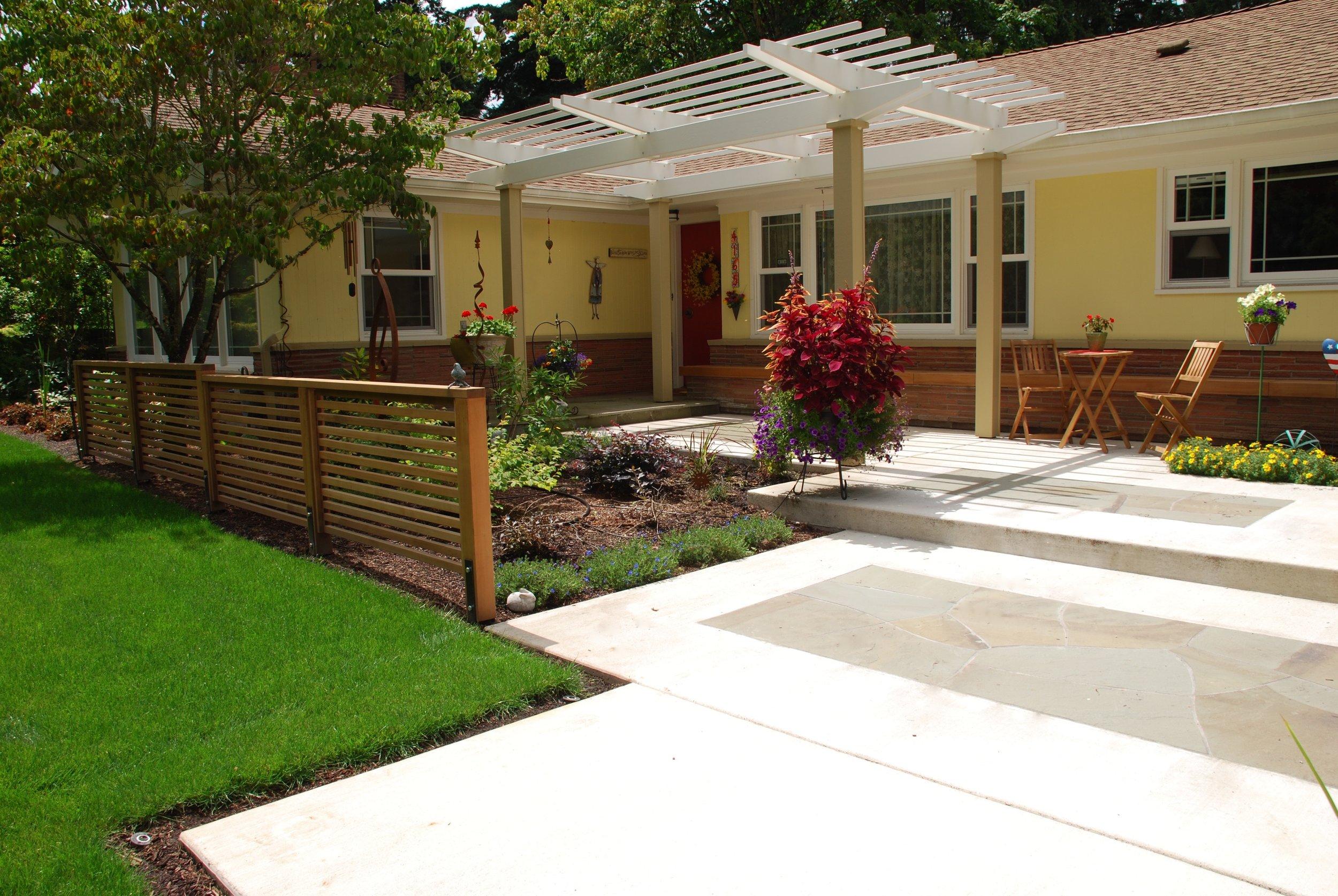 Midcentury Front Yard Upgrade Greg Ellis Landscape Designs