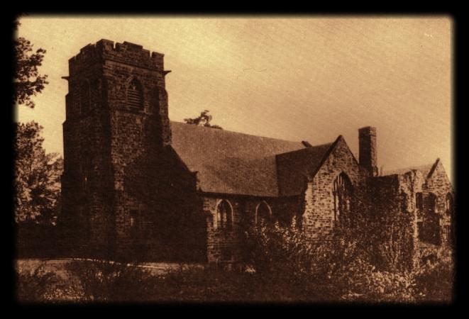 Ben Avon Presbyterian Church in the 1930s. The original structure was built in 1911.