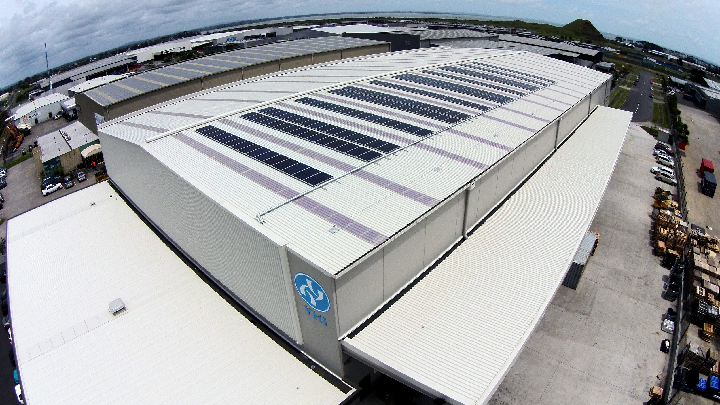 YHI Commercial Solar Install