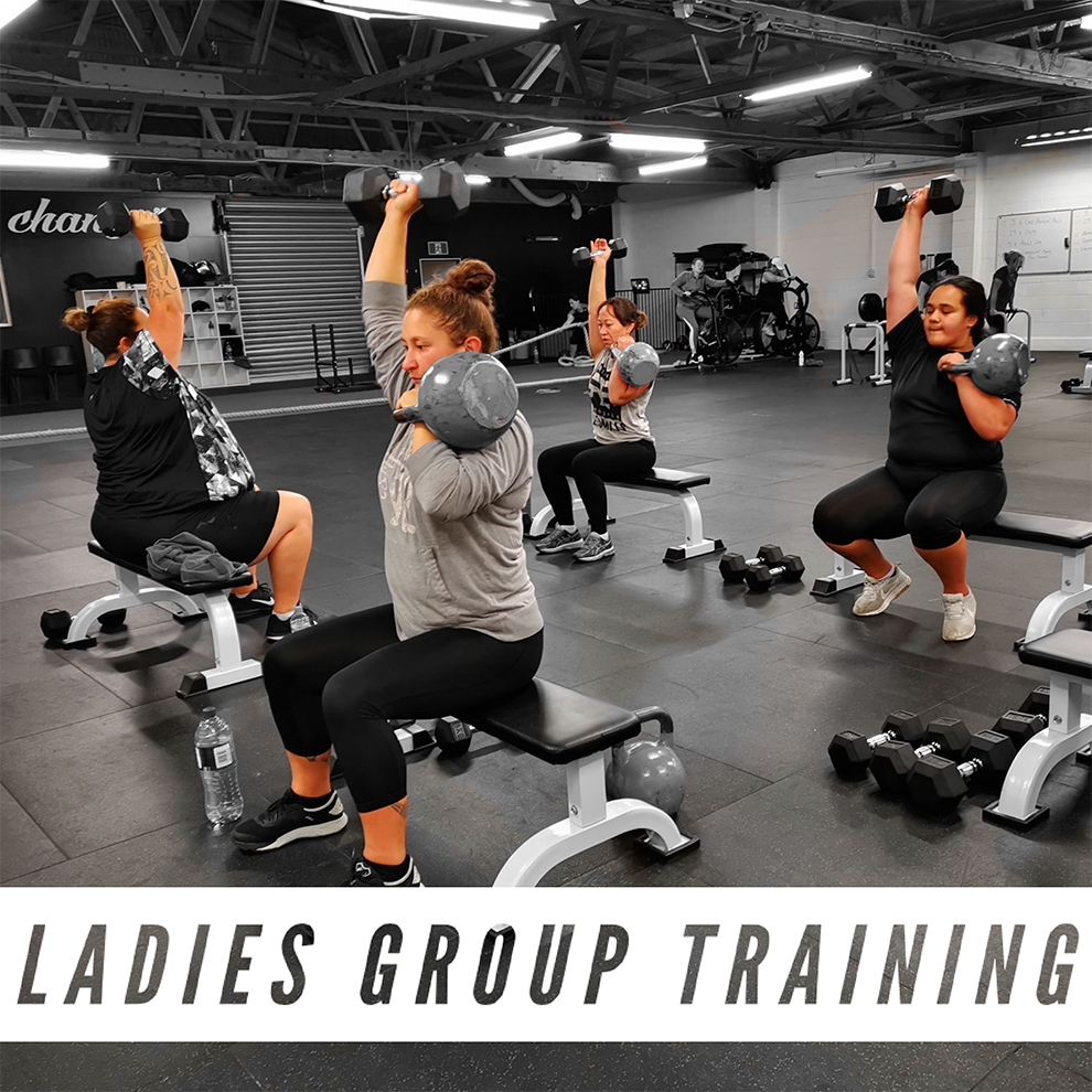 LGT - Ladies Group Training - LGT Classes are 40mins in duration. This class was designed for the Ladies to be able to feel comfortable surrounded by other Ladies on a similar journey inspiring and supporting one another. Working to your own ability, you will be guided and monitored throughout each session by a trained industry professional to ensure you are moving and training in a safe manor at all times. These sessions are full body circuit style sessions utilising both free weights and body weight to get maximum results. You can expect to burn body fat and tone muscle by mixing resistance, strength and conditioning training with endurance, speed and agility all wrapped into an exciting and fun packed training experience.