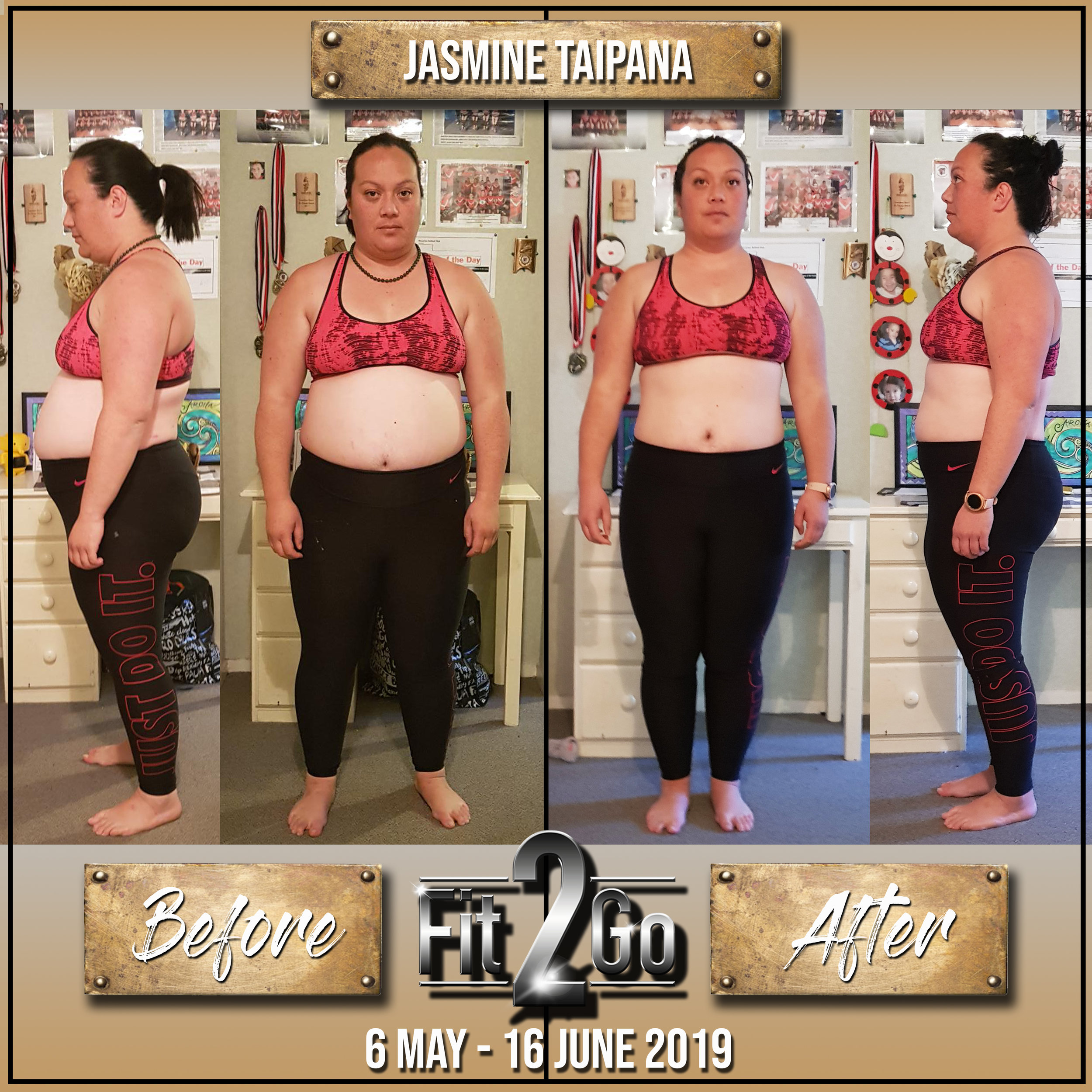 Jasmine Taipana before and afters June 2019.jpg