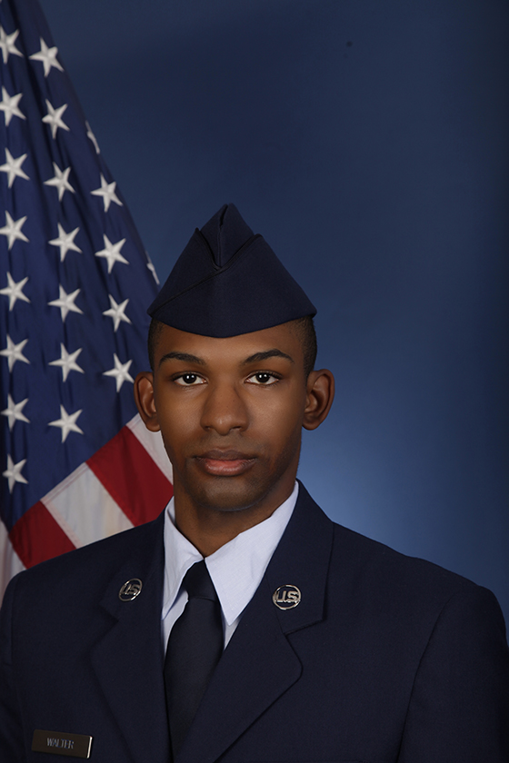 U.S. Air Force Airman Aaron M. Walter