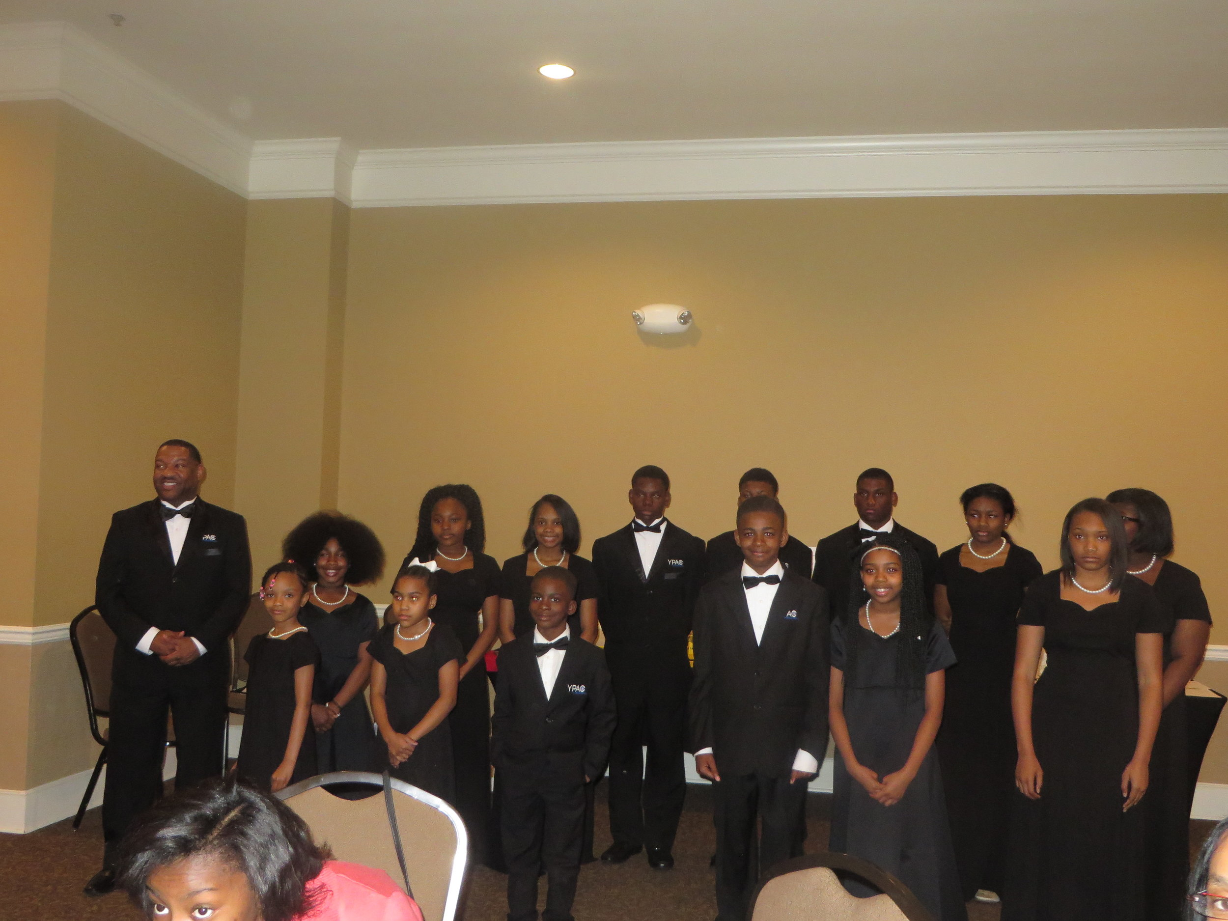 Boys and Girls Choir of Memphis and Fleming J. Ivory