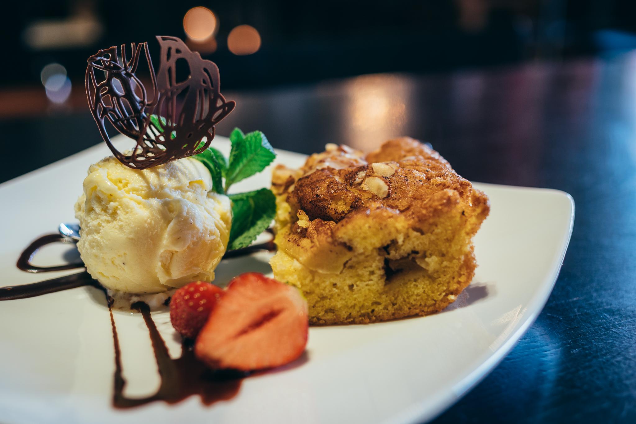 Apple Pie and Vanilla Ice Cream