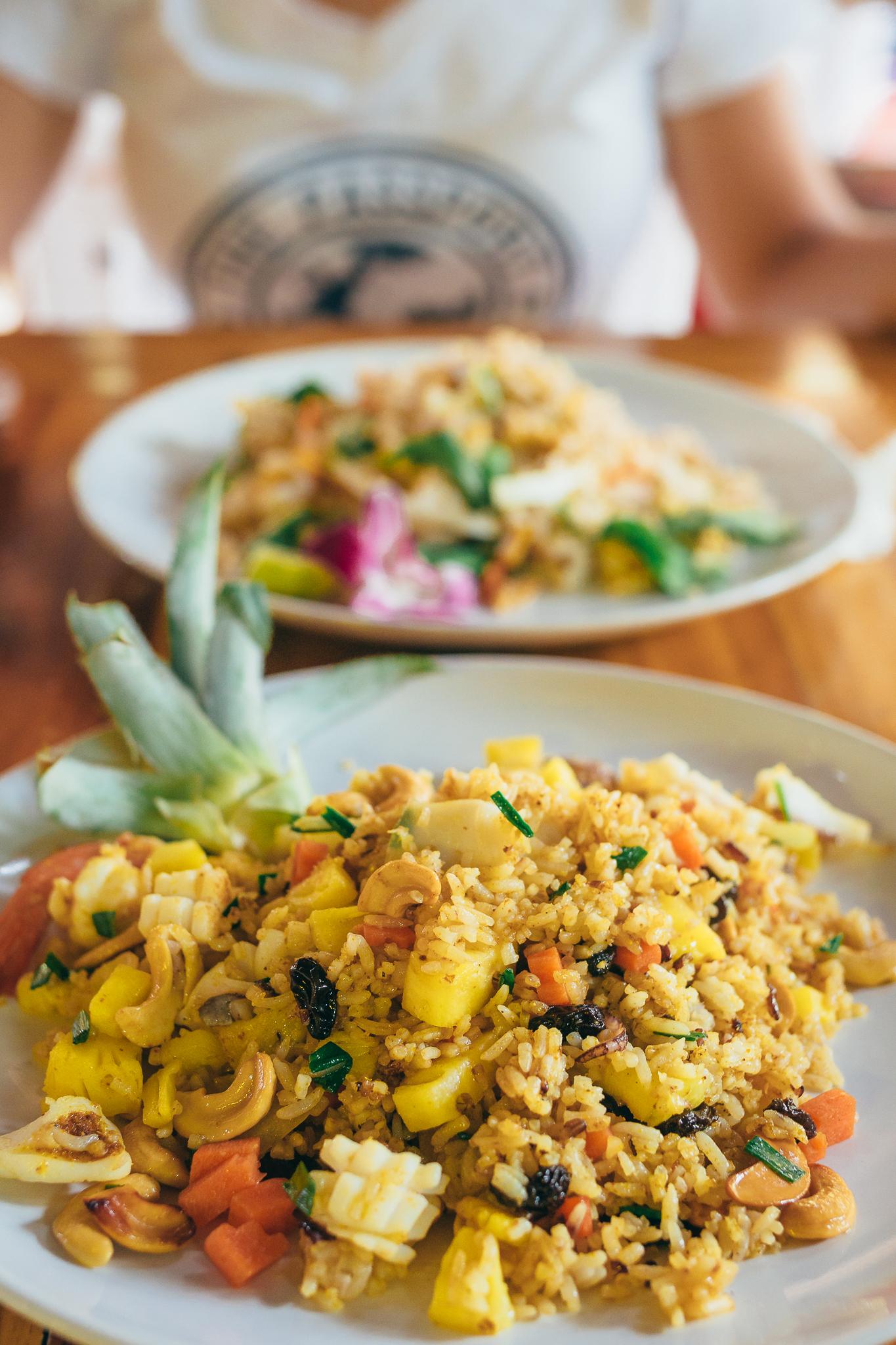 Pinneaple fried rice