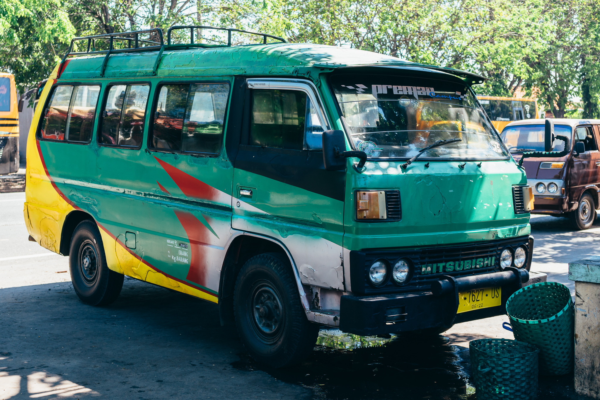 This is what the mini-bus that will take you to Cemoro Lawang looks like.