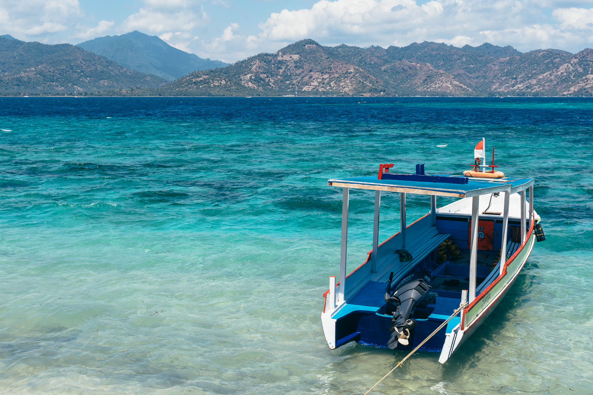 Views from Gili Air.