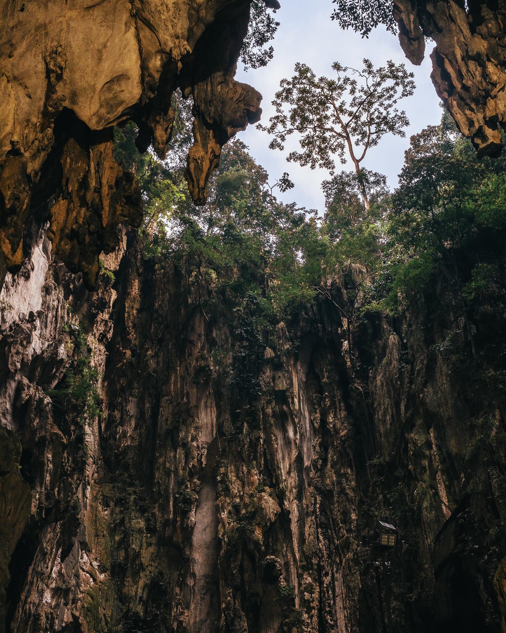 The interior of Batu Caves.