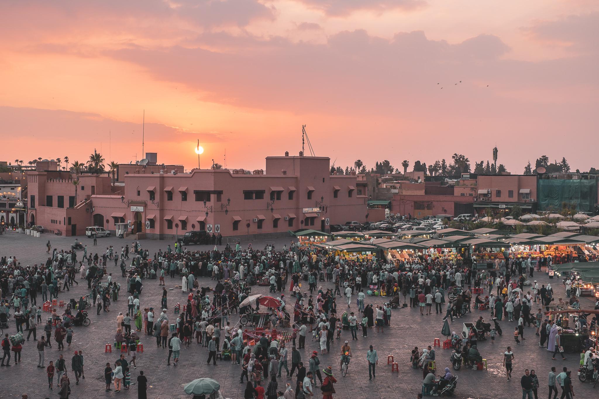 Photo Journey 004 Marrakech – Glacier Cafe View.jpg