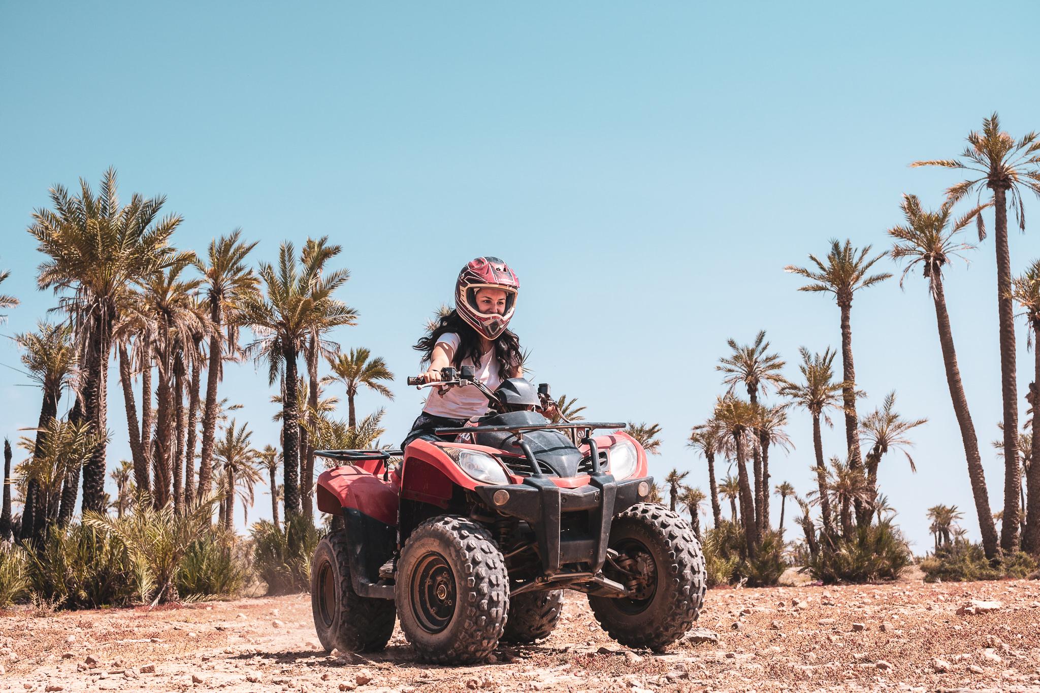 Quads in action – Marrakesh