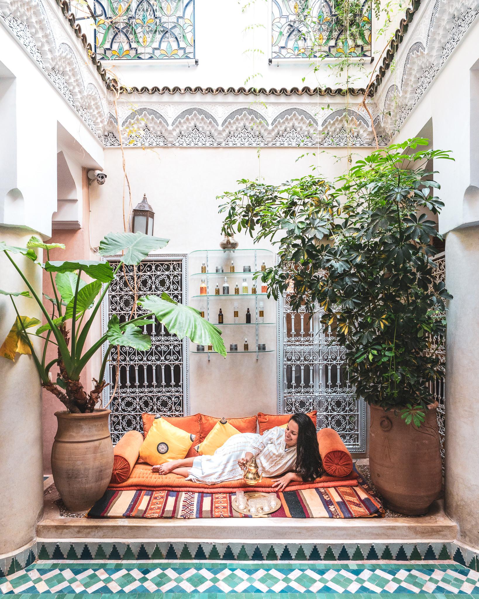 Manissa Riad – courtyard