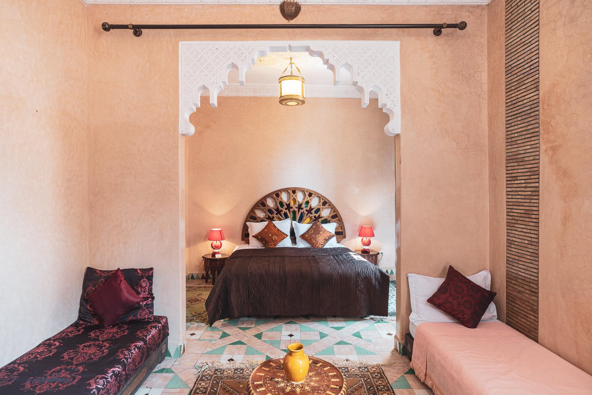 Manissa Riad Marrakesh room