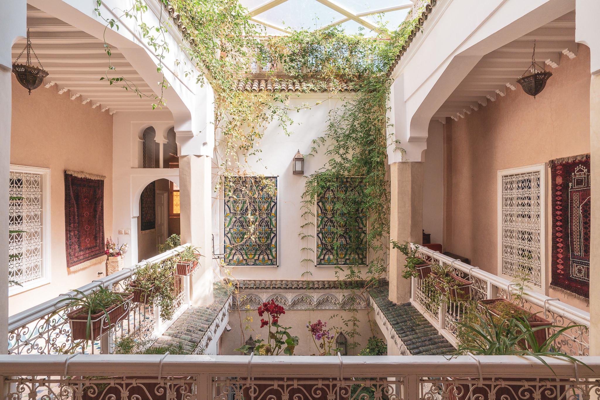 Marrakesh Manissa Riad hallway