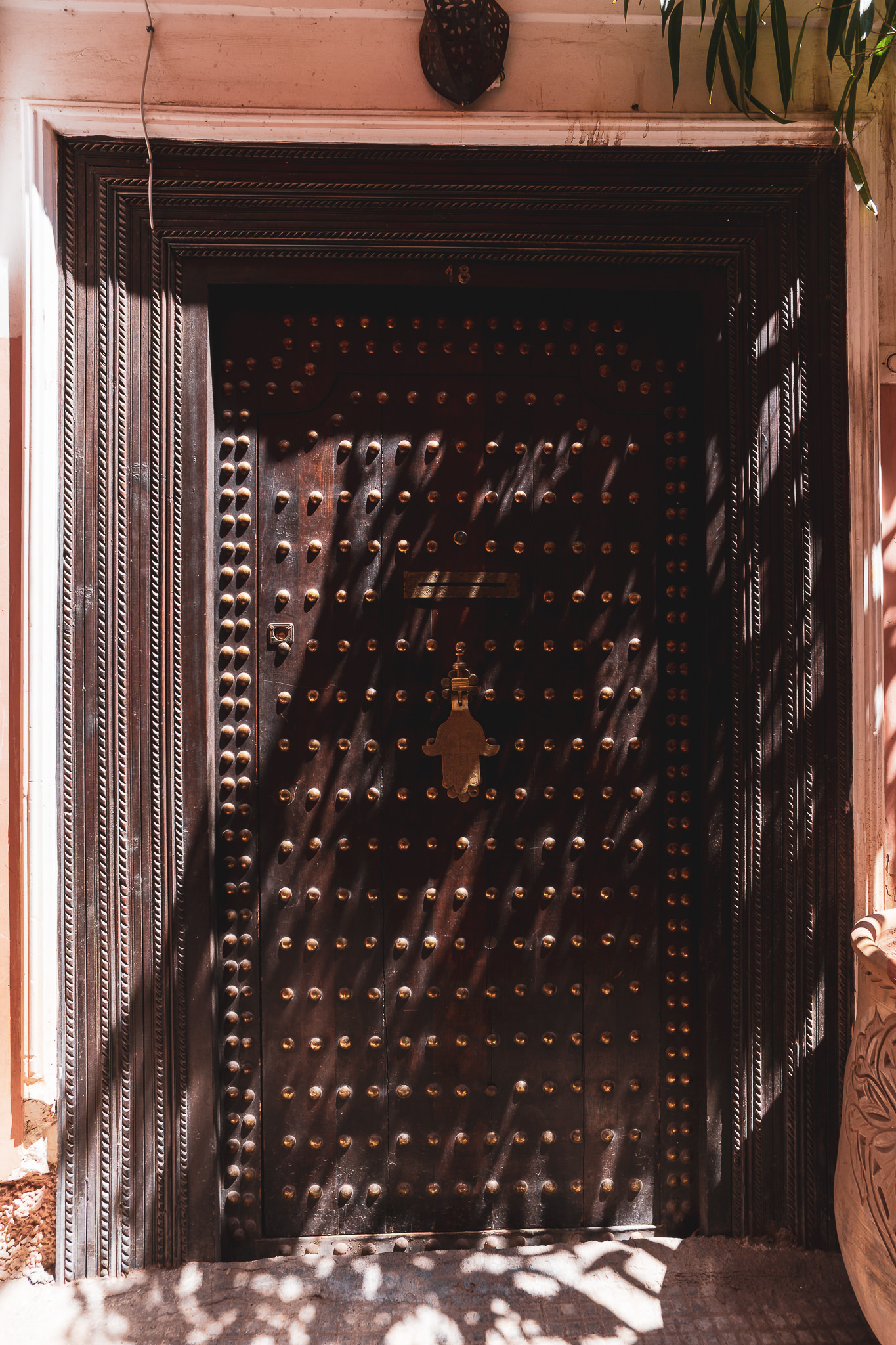 Marrakech ornate door #3
