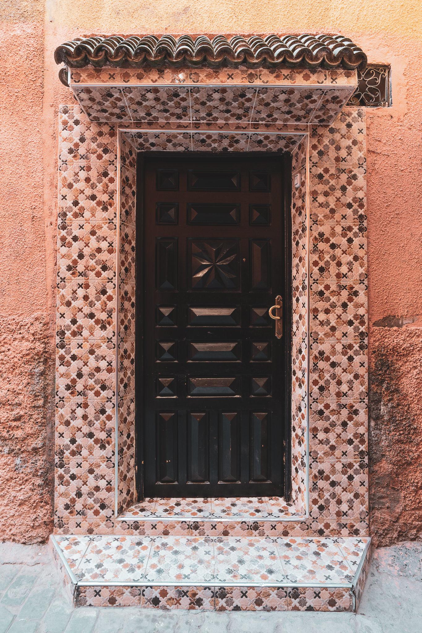 Marrakech ornate door #5