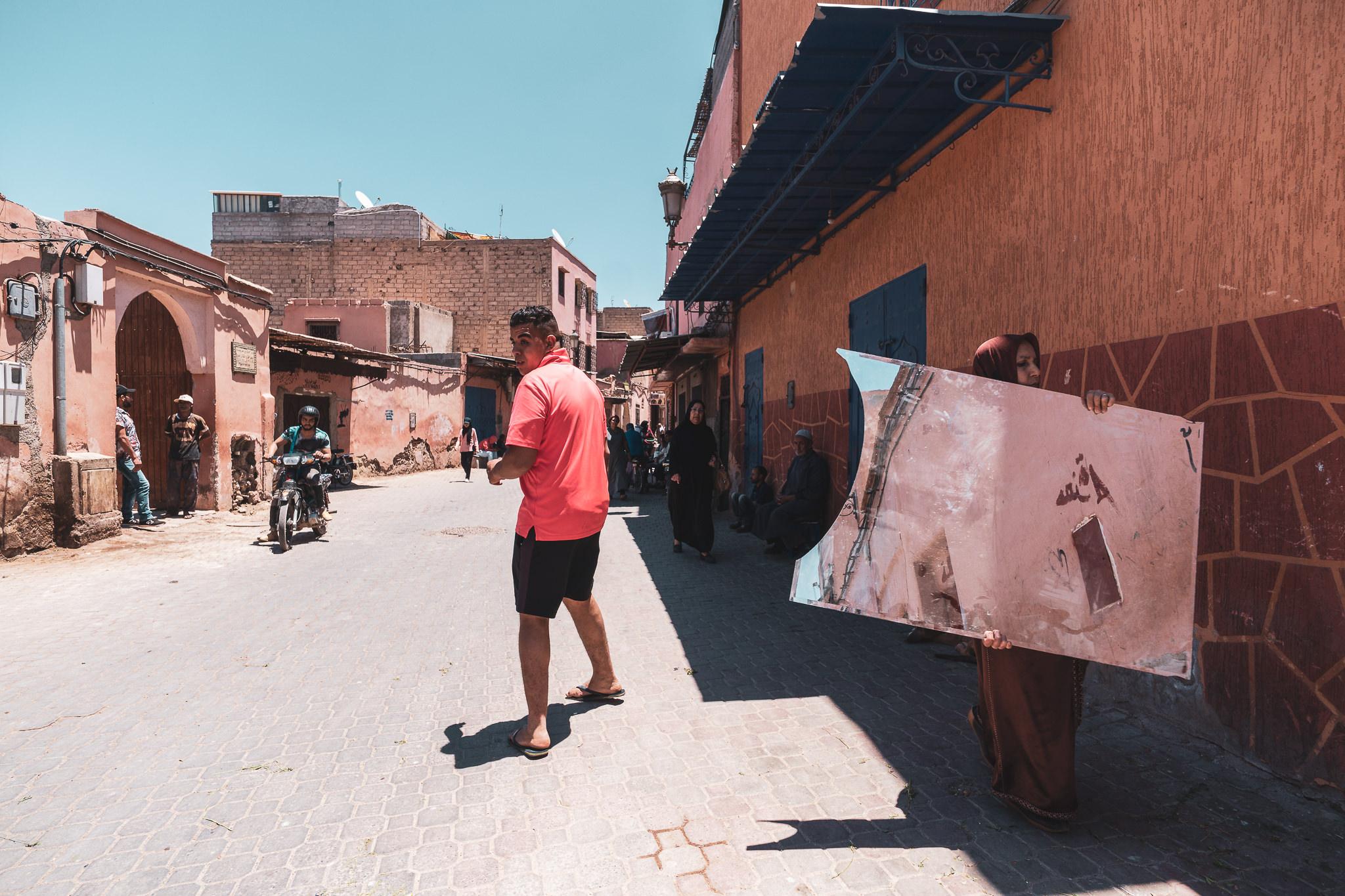 """""""Not a Tour Guide,"""" Marrakech"""