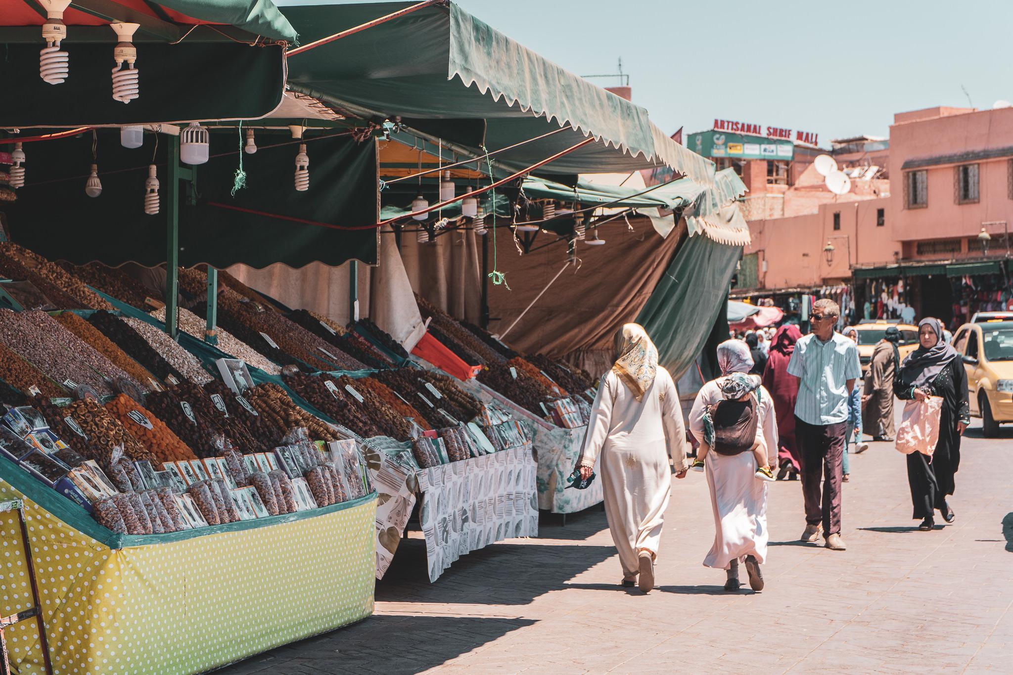 Marrakesh Street Vendors – Fruits