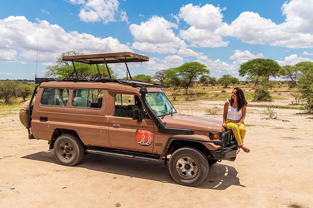 "Hello from Tarangire National Park! We started our safari today with @suricatasafaris and had an awesome first day!  We had first encounters with a ton of different animals (some prettier than others... bc let's just say that ""Pumbas"" are not the prettiest in real life 😂) and now, we're ""glamping"" near our next destination. I mean, we have a toilet inside our tent... so we pretty much have it made haha👌  Check out our @suricatasafaris Stories for the full adventure! We'll be posting whenever the internet connection allow us to do so 😉 . . . . . #tanzania #safari #africa #bbctravel #passionpassport #culturetrip #wanderlust #globetrotters #backpacking #traveladdict #travelphotography #wanderer #worldtraveller #travelblogger #zeiss #travelawesome #neverstopexploring #sharetravelpics #travelblog #roundtheworld #sonyimages #a6500#beautifuldestinations #worldnomads #backpackerlife #backpackers #travelingtheworld #instatravel"