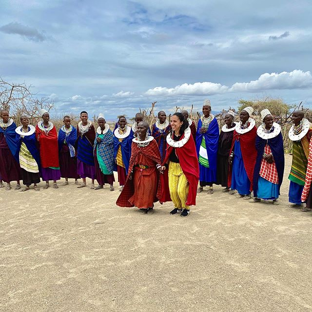 These days on safari have been full of fun, exhilarating, unexpected, and even challenging moments that we hope we can convey through photos in the upcoming days and weeks. 📸  This here is from when we were dancing and jumping with a Maasai tribe in their village. Even though you can tell the whole experience was prepared for tourists, it was still really interesting to see their unique and nomadic day-to-day lifestyle. . . . . . #tanzania#safari#africa#bbctravel #passionpassport#culturetrip#wanderlust#globetrotters#backpacking#traveladdict#travelphotography#wanderer #worldtraveller#travelblogger#travelawesome #neverstopexploring#sharetravelpics#travelblog #roundtheworld#sonyimages #beautifuldestinations#worldnomads#backpackerlife #backpackers#travelingtheworld#instatravel #iphoneography
