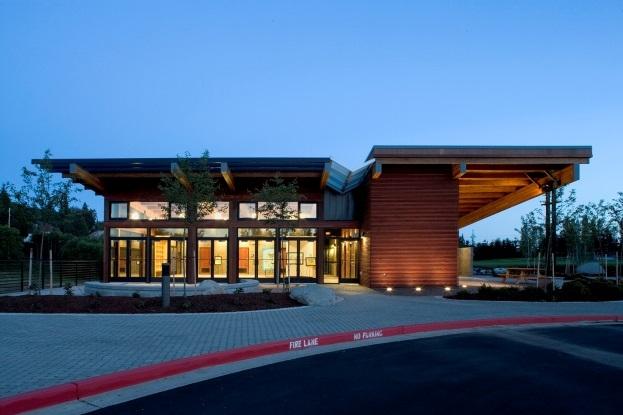 Lewis Creek Visitor Center, Seattle WA