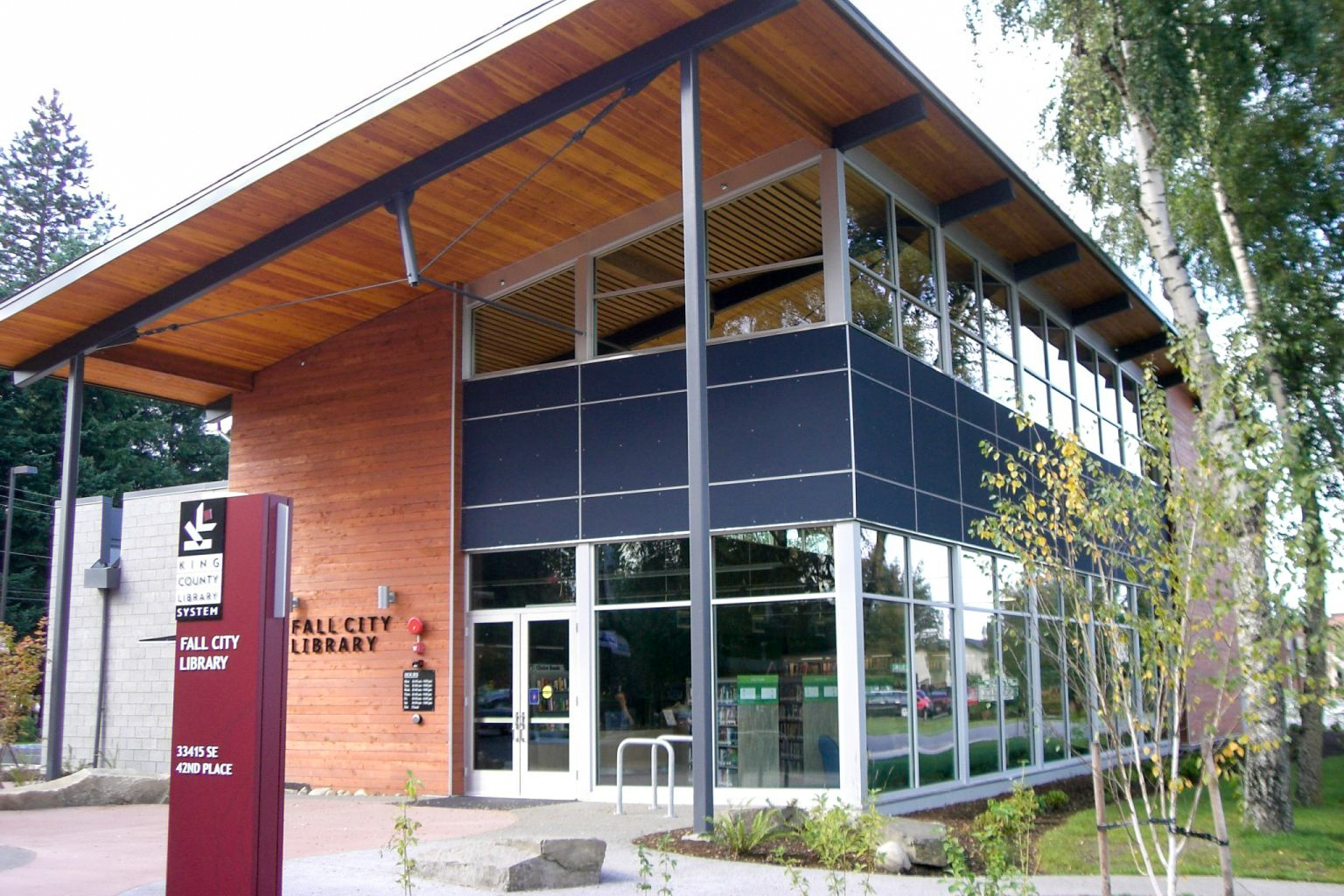 Five Libraries - King Co.Library System