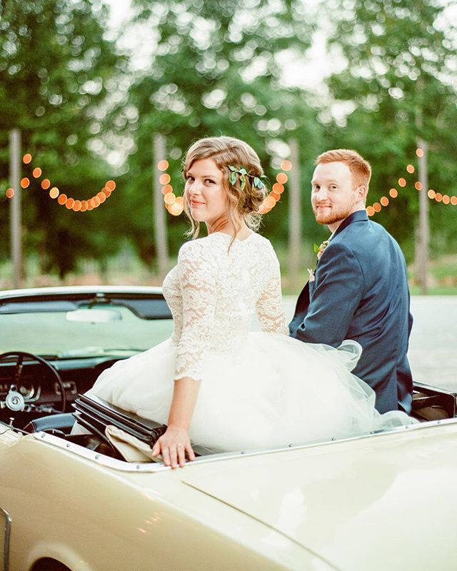 "Cruisin' into the weekend like...✨ Katy and Jake killed the ""getaway"" game! 📷: @sweetjulepphotography"