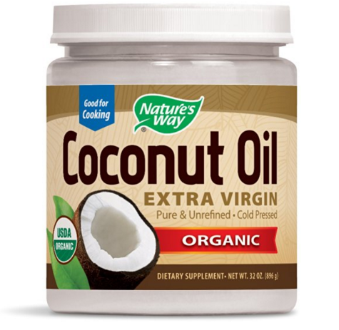 <strong>NATURE'S WAY</strong><br>Organic Coconut Oil