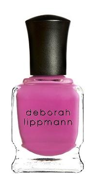 Deborah Lippman's 5-Free non-toxic nail lacquer in  Whip It  (real good)