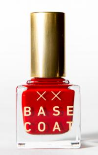 Base Coat's 8-Free non-toxic nail polish in  Bad News Babes