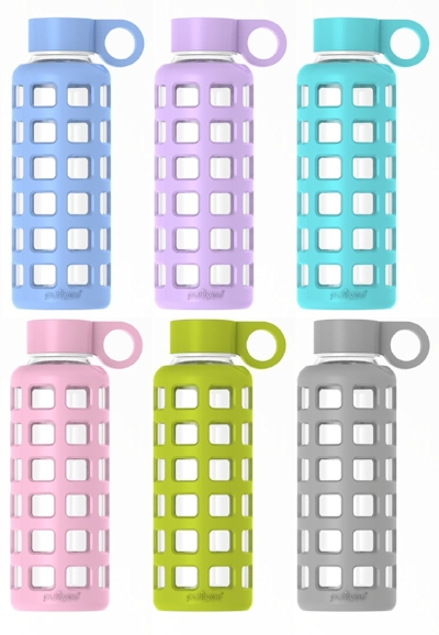 Choose  glass water bottles  and  food storage containers  instead.