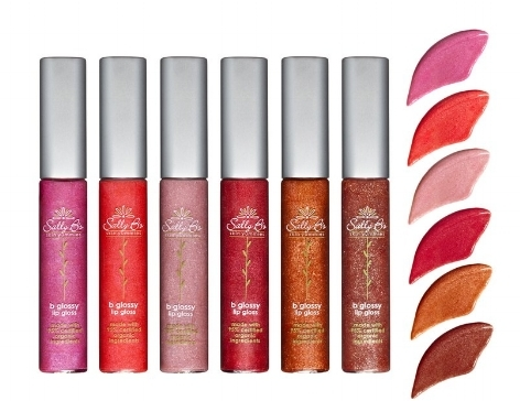 Sally B's B Glossy Lip Gloss  is made with over 95-percent organic ingredients.