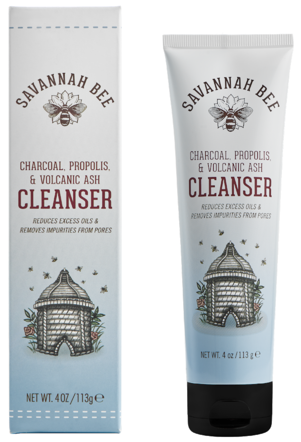 Savannah Bee's skin-clearing natural cleanser.