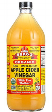The mother of all  raw apple cider vinegars ...