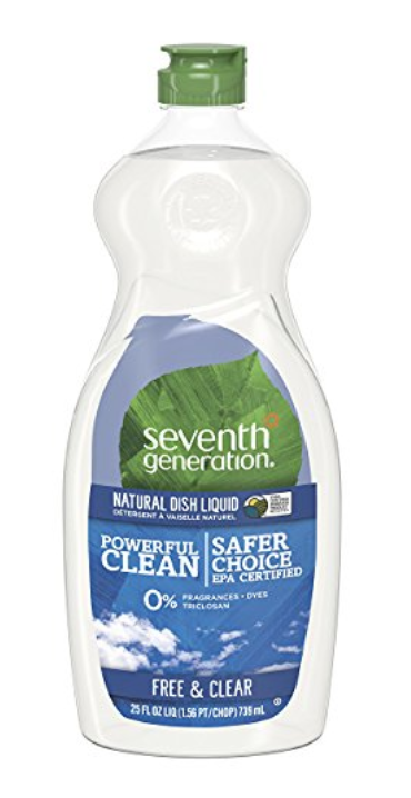 <strong>SEVENTH GENERATION</strong><br>Dish Liquid Soap