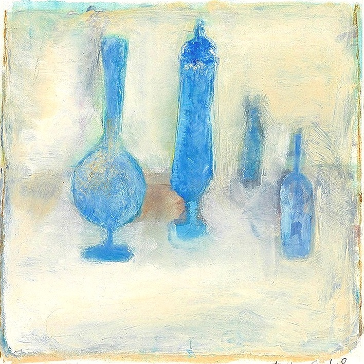 Letter to Morandi (Blue)