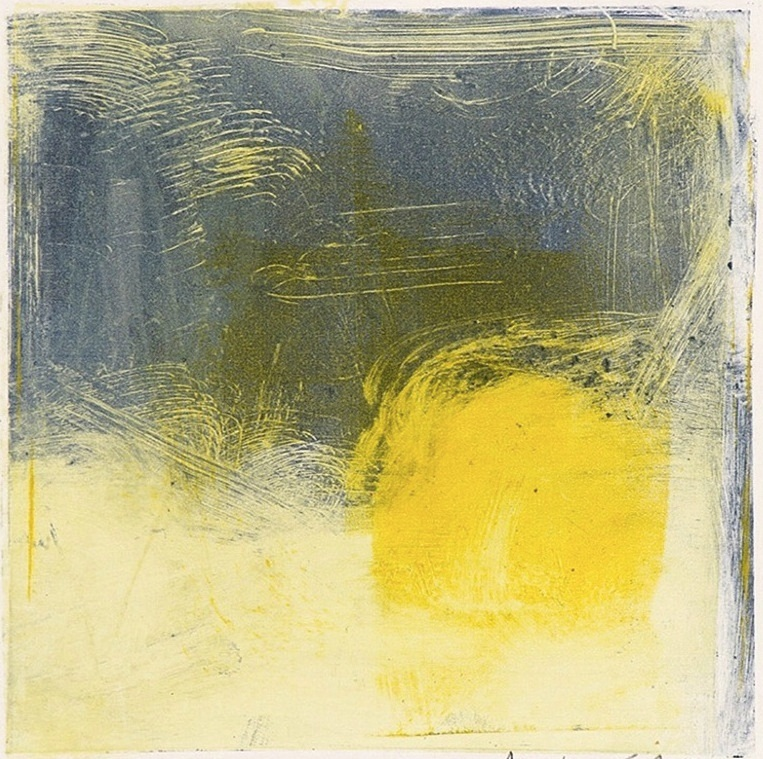 Hansa Yellow and Paynes Grey