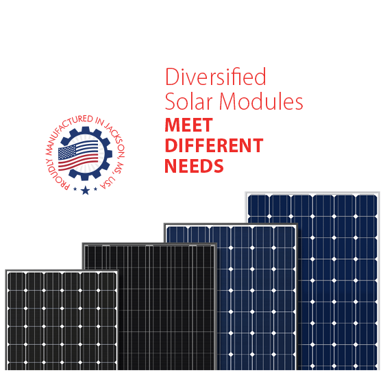 Seraphim provides both high-efficiency monocrystalline modules and standard high-specification polycrystalline modules. Widely used throughout the globe in residential, commercial and utility projects, Seraphim's modules provide long-term reliability and power output performance.