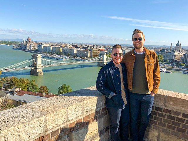 And all I know is I want to be here with you from now on 🎶 . . . Five years between 4 cities, 3 international trips, 2 dogs, 1 house, and we're just getting started. Thanks for putting up with all my oddities and flying your freak flag proudly next to mine. I love you.