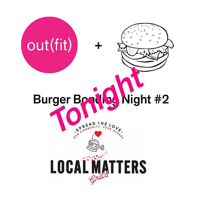 Burger night is tonight! Hope to see you there! From 6pm, Grill'd @ the Junction