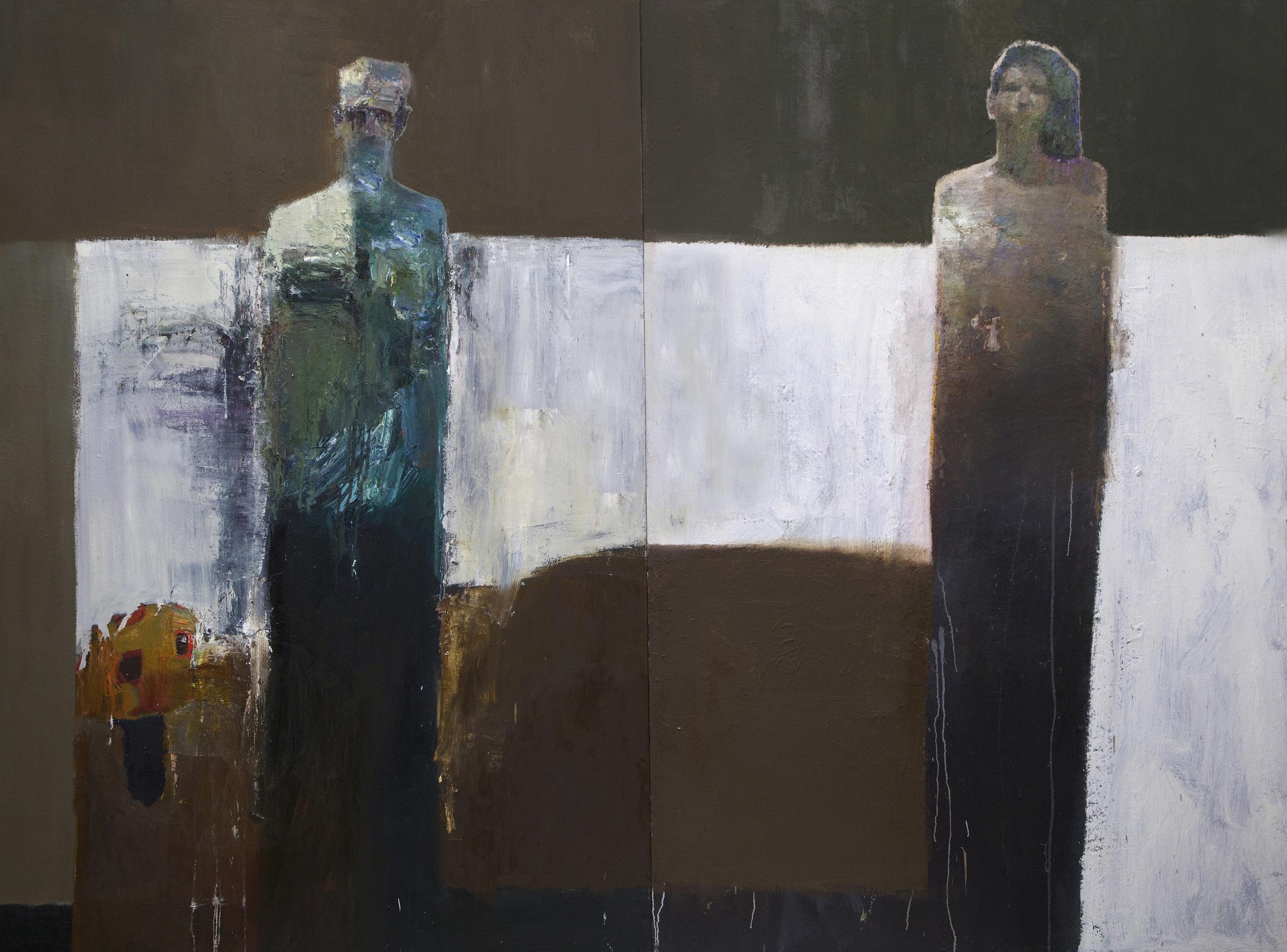 Interwoven 72x96 in. Oil on Canvas